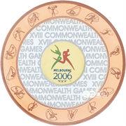 50 Dollars - Elizabeth II (Commonwealth Games 2006) -  reverse