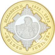 20 Dollars - Elizabeth II (Golden Jubilee) -  reverse