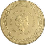 100 Dollars - Elizabeth II (Gold Bullion Coin) -  obverse