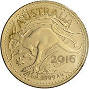 100 Dollars - Elizabeth II (4th Portrait - Gold Bullion Coin) -  reverse