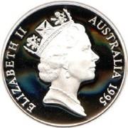 5 Dollars - Elizabeth II (3rd Portrait - Cobb and Co 1853) -  obverse