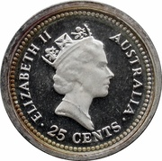 25 Cents - Elizabeth II (The Dump) -  obverse