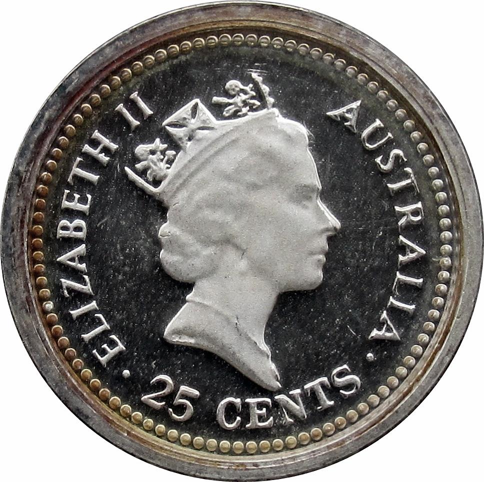Canada 1995 Proof Gem UNC Twenty-Five Cent Piece!!
