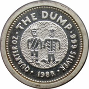 25 Cents - Elizabeth II (The Dump) -  reverse