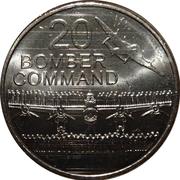 20 Cents - Elizabeth II (Bomber Command) -  reverse