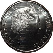 20 Cents - Elizabeth II (4th Portrait - Afghanistan) -  obverse