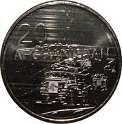 20 Cents - Elizabeth II (Afghanistan) – reverse