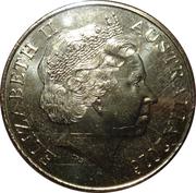 25 Cents - Elizabeth II (Peace) -  obverse
