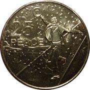 25 Cents - Elizabeth II (Peace) -  reverse