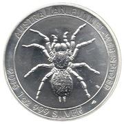 1 Dollar - Elizabeth II (Australian Funnel-Web Spider) -  reverse