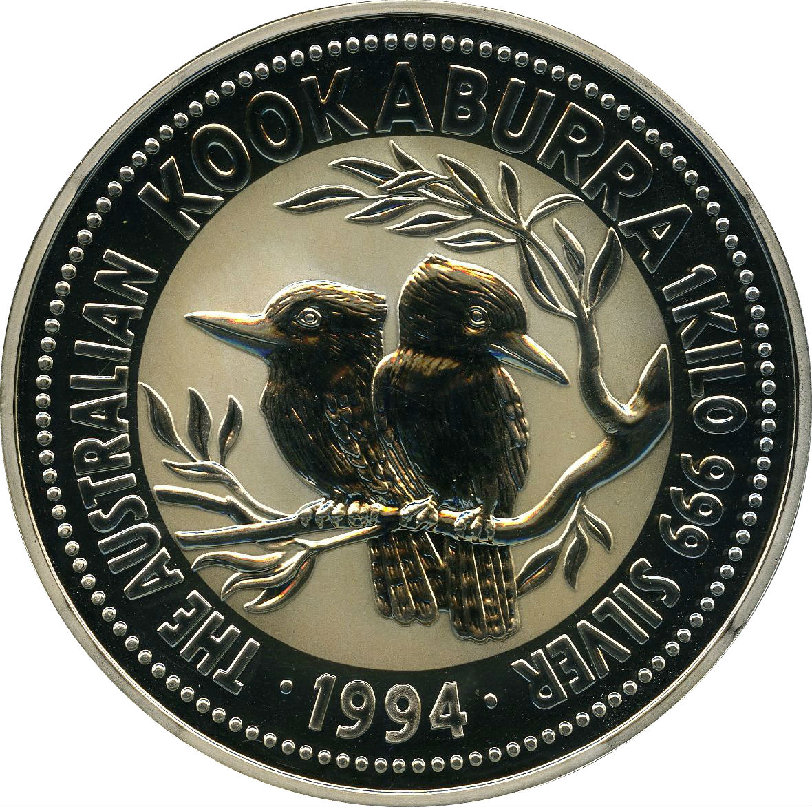 30 Dollars Elizabeth Ii Australian Kookaburra