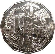 50 Cents - Elizabeth II (Indonesian Confrontation) -  reverse