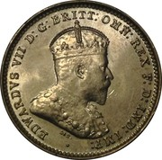 3 Pence - Edward VII -  obverse
