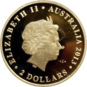 2 Dollars - Elizabeth II (4th Portrait - Mini Koala - Gold Bullion Coin) -  obverse