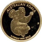 2 Dollars - Elizabeth II (Mini Koala) -  reverse
