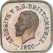 ½ Penny - George V (Kookaburra Pattern - Type 1) -  obverse
