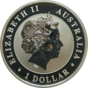 1 Dollar - Elizabeth II (The Australian Stock) -  obverse