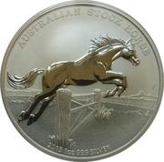 1 Dollar - Elizabeth II (The Australian Stock) -  reverse