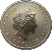 1 Dollar - Elizabeth II (ANZAC Day - Nurses) -  obverse