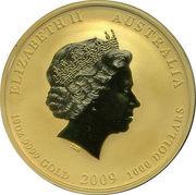 1000 Dollars - Elizabeth II (Year of the Ox) -  obverse