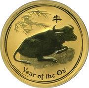 1000 Dollars - Elizabeth II (Year of the Ox) -  reverse