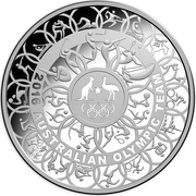 30 Dollars - Elizabeth II (2016 Australian Olympic Team) -  reverse