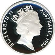 5 Dollars - Elizabeth II (Ludwig Leichhardt) -  obverse