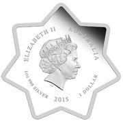 1 Dollar - Elizabeth II (4th Portrait - Christmas 2015) -  obverse