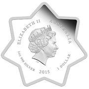 1 Dollar - Elizabeth II (2015 Christmas) -  obverse