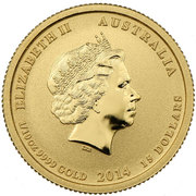 15 Dollars - Elizabeth II (4th Portrait - Battle of the Coral Sea - Gold Bullion Coin) -  obverse