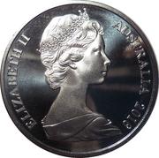 20 Cents - Elizabeth II (2nd Portrait - Her Majesty The Queen 90th Birthday) -  obverse