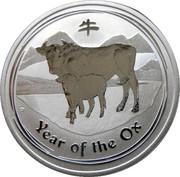 "50 Cents - Elizabeth II (""Lunar Year Series II"") -  reverse"