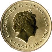 1 Dollar - Elizabeth II (Green Turtle) -  obverse