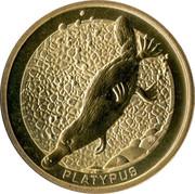 1 Dollar - Elizabeth II (Platypus) -  reverse