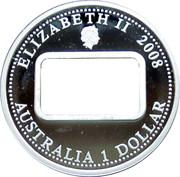 1 Dollar - Elizabeth II (Rum Rebellion) -  obverse