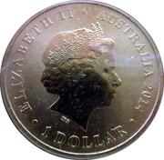 1 Dollar - Elizabeth (Christmas) -  obverse