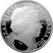 1 Dollar - Elizabeth II (4th Portrait - Saltwater Crocodile - Graham) -  obverse