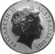 1 Dollar - Elizabeth II (4th Portrait - Saltwater Crocodile - Argo Junior) -  obverse