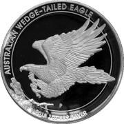 1 Dollar - Elizabeth II (Australian Wedge-Tailed Eagle) -  reverse