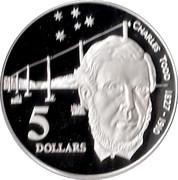 5 Dollars - Elizabeth II (Charles Todd) -  reverse