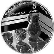 5 Dollars - Eliabeth II (Mary Preston) -  reverse