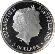 5 Dollars - Elizabeth II (Australian Antarctic Territory) -  obverse