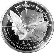 5 Dollars - Elizabeth II (Australian Antarctic Territory) -  reverse