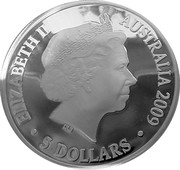 5 Dollars - Elizabeth II (4th Portrait - Three Explorers - Silver Proof) -  obverse