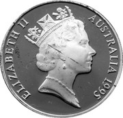 10 Dollars - Elizabeth II (3rd Portrait - Numbat) -  obverse