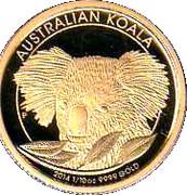 """15 Dollars - Elizabeth II (""""Koala"""" Gold Bullion Coinage) -  reverse"""