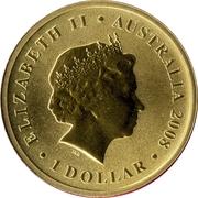 1 Dollar - Elizabeth II (Palm Cockatoo) -  obverse
