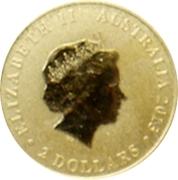 2 Dollars - Elizabeth II (4th Portrait - Mini Roo - Gold Bullion Coin) -  obverse