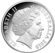 5 Dollars - Elizabeth II (4th Portrait - Gallipoli Landing - Silver Proof) -  obverse