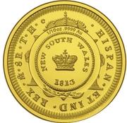 10 Dollars - Elizabeth II (Bicentenary of the Holey Dollar & Dump) -  reverse